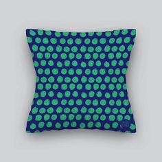 bolinhas - verde com azul - decoração o