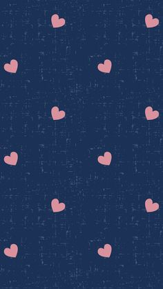 #blue #pink #hearts #background #wallpaper