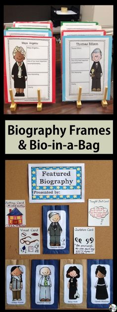 Easy Research Presentations (Biography Sentence Stems and Promo Displays) Available on TpT 5th Grade Social Studies, Teaching Social Studies, Teaching Writing, Writing Activities, Writing Skills, Teaching Ideas, Writing Resources, Writing Ideas, Creative Writing