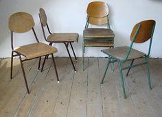 Iskolaszékek (80's)