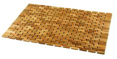 Amazon.com: Conair Home Pollenex Solid Teak Roll-Up Folding Shower Spa Mat, DPSHMATR: Kitchen & Dining