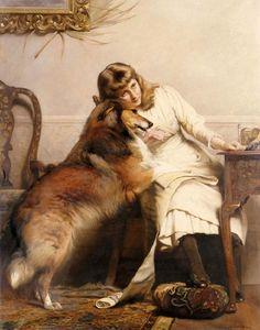 Charles Burton Barber; 1845-1894