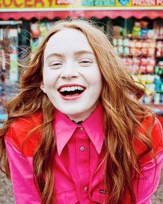 Sadie x Calvin 💕 for Harpers Bazaar Japan Hai The Americans, Blue Bloods, Plain Girl, Sadie Sink, Stranger Things Netflix, New Fashion Trends, Women's Fashion, Millie Bobby Brown, Celebs