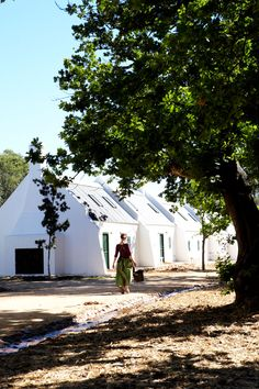 Babylonstoren is a designer hotel on a South African Cape Winelands farm dating back to1652. A recommendation is the farm cottages overlooking the garden and mountains. Good restaurant too!