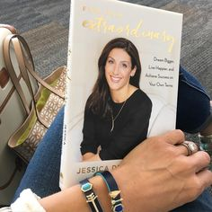 "Jessica Herrin on Instagram: ""Surreal and exciting. The hardbound copy of Find Your Extraordinary arrived just in time for me to grab it on my way to board a plane to Baltimore! T-28 days until book launch. #helloextraordinary #bucketlist #keepsneak"""