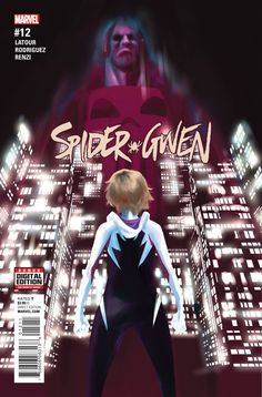 Spider-Gwen 12 Cover Art Featuring Punisher, Spider-Gwen Marvel Comics Poster - 30 x 46 cm Comic Book Characters, Comic Books Art, Comic Art, Book Art, X Men, Hulk, Thor, Captain America, Deadpool