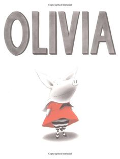 Olivia by Ian Falconer - The main character Olivia is an energetic pig who wears her family out. Ian Falconer captures the busy life of a preschooler with a humorous touch. Art Books For Kids, Best Children Books, Great Books, Childrens Books, Toddler Books, Book Club Books, Book Art, My Books, Reading Books