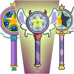 Star's Wands. Does anyone else notice she gets a new wand each season?