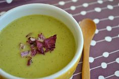 seaweed snacks: Chilled Broccoli Basil Soup and Loving Ourselves