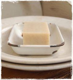 Enamelware soap dish