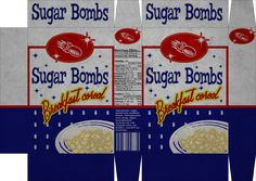 Papercraft (Fallout 3) Sugar Bombs - perfect for brewing up some Ultra-Jet.