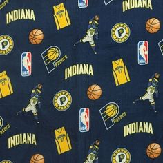 Calling all basketball fanatics! This NBA fleece is necessary for keeping you comfortable during the big game.  Use for apparel lining, stadium throws, hats, scarves, pillows, and more to show your cheer for your favorite team.