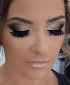 Smokey eye makeup #eyeshadow