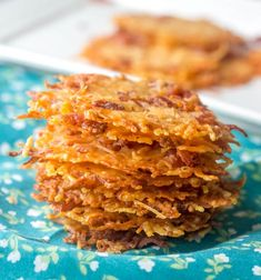 Bacon Parmesan Crisps {A Quick and Easy Low Carb Snack}