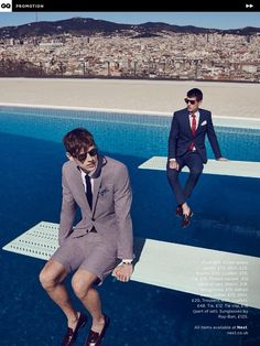 Adrian Cardoso, Victor Norlander and Charlie Timms star in a charming story for the June 2015 issue of British GQ. Showcasing Next's summer styles… Next Fashion, Fashion Shoot, Editorial Fashion, Men Editorial, Sports Editorial, Male Fashion Trends, Trendy Fashion, Fashion Models, Fashion Men