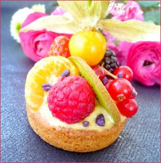 Blog Patisserie, Shortbread, Fresh Fruit, Fruit Salad, Finger Foods, Nutella, Biscuits, Food Photography, Cheesecake