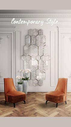 Elegant Home Decor, Luxury Home Decor, Elegant Homes, Luxury Interior Design, Contemporary Interior, Interior Design Inspiration, Contemporary Hallway, Interior Columns, Classic Interior