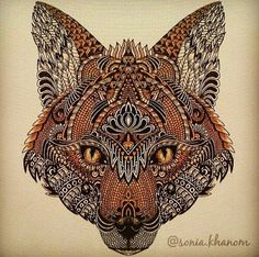 Image via We Heart It https://weheartit.com/entry/134138218 #animal #art #colors #drawing #Dream #fox #renard