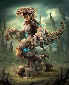 Michita Warrior by elmisa.deviantart.com on @deviantART