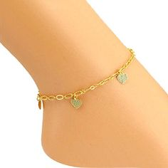 Susenstone�Women Ankle Bracelet Barefoot Sandal Beach Foot Jewelry.More info for beautiful anklets;antique anklets online shopping;trendy anklets online;beautiful anklets;silver anklets for womens could be found at the image url.(This is an Amazon affiliate link and I receive a commission for the sales)