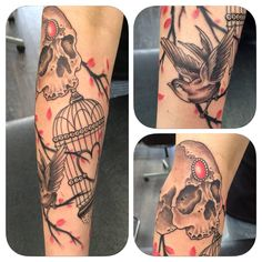 Birdcage tattoos are so difficult to get right but i think Greg has managed to pull it off once again. All our tattoos at Holy Trinity are custom designed. Come and see us at 74 Preston Road Standish Wigan Call 07427627912 to see more of Greg's work visit holytrinitytattoos.co.uk  #gregsleeve #holytrinitytattoos #gregatholytrinity #birdcagesleevewigan #wigantattoos #chorleytattoos #birdcagetattoo
