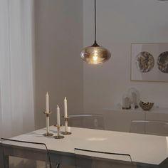 "GRUNDÄMNE Pendant lamp shade, glass, 10"" - IKEA Lamp Shades, Light Shades, Tons Clairs, Minimal Decor, Aesthetic Room Decor, Dining Room Lighting, Led Lampe, Light Table, Home"