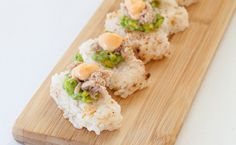 Tex-Mex Petite Sushi: With an Epicure Perfect Petites mold no tricky sushi rolling is needed! Epicure Recipes, Sushi Recipes, Cajun Recipes, Real Food Recipes, Healthy Recipes, Cajun Food, Healthy Foods, Recipies, My Favorite Food
