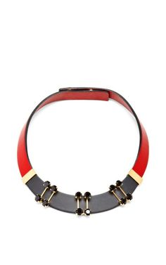 Mon Style loves... Marni Choker #fashion #style #trend #marni #choker #accessories #statementnecklace