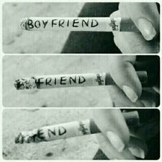 Boyfriend, friend, end :'(