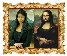La mona Lisa di Leonardo della redazione artisticooggi