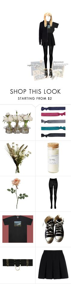 """""""hearts are only open when they break"""" by avintagemystery ❤ liked on Polyvore featuring Accessorize, Abigail Ahern, MANGO, SPANX, UNIF, Converse, Bordelle, Alexander Wang, adidas and xO Design"""