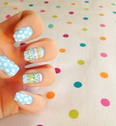 Easter nail art! A great idea for your nails