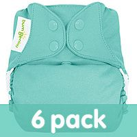 bumGenius Freetime All-In-One One-Size Cloth Diaper 6-Pack  Save $ buying in bulk at CottonBabies.com