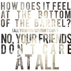 "Amazing lyrics from Beartooth song ""Body Bag"""