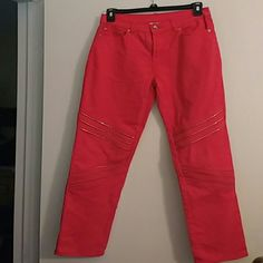 DG 2 corral jeans sz 2 Motocross with gold zuppera Diane gilman  Jeans Straight Leg