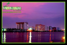 Evening shot from #MarineDrive  #Cochin - The Industrial Capital of #Kerala is known for its beautiful Backwaters and it  attracts lot travellers  http://www.greenleisuretours.com/destination/Cochin  Reach us GreenLeisure Tours & Holidays for any #Kerala #Tour #Packages   www.greenleisuretours.com  Like us & Reach us https://www.facebook.com/GreenLeisureTours for more updates on #Kerala #Tourism #Leisure #Destinations #SiteSeeing #Travel #Honeymoon #Packages #Weekend #Adventure #Hideout