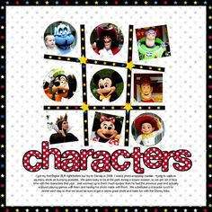Disney Scrapbook Pages Ideas | disney scrapbook page kits | ... scrapbooking - gallery - upload your ...