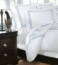 Home Decorators Collection Embroidered Duvet Cover - Duvets And Coverlets - Bed Linens - Linens And Fabrics | HomeDecorators.com #homedecorators