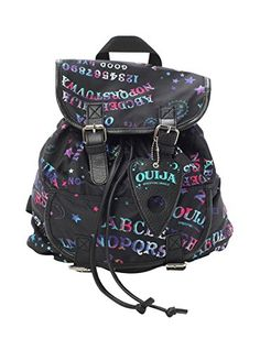 Ouija Galaxy Slouch Backpack from Hot Topic. Shop more products from Hot Topic on Wanelo. Rucksack Bag, Backpack Bags, Drawstring Backpack, Outfits For Teens, Cute Outfits, Galaxy Backpack, Hipster Backpack, Slouch Bags, Accesorios Casual