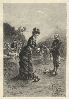 victorian croquet - Google Search