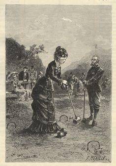 victorian croquet - Google Search