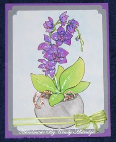Design By Vickie Brierworth Colored with Derwent Pencils Stickles Used