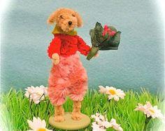 pipe cleaner dog animal artist bear doll