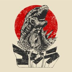 THE KING WILL RISE T-Shirt $10 Godzilla tee at RIPT today only!