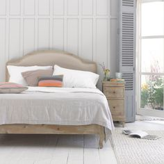 DAMSEL BED When it comes to super-comfy beds that combine sophistication with quirk, Damsel more than cuts the Dijon mustard.