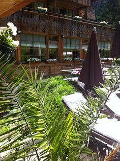 Coté Jardin à l'hotel du Jeu de Paume