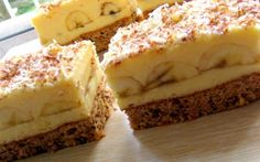 Banánové pokušení s vanilkovým krémem | NejRecept.cz