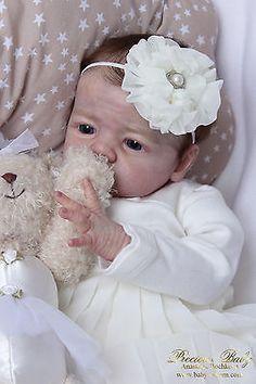 * PROTOTYPE REBORN BABY GIRL PRINCESS PATRICIA/ KARLOTTA  BY KAROLA WEGERICH *