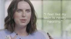 We asked six people to try REN Flash Hydro-Boost. Meet Sarah, a beauty junkie who works in PR, she also takes her mum's advice seriously when it comes to skincare. Beauty Junkie, It Works, Skincare, Things To Come, Advice, Meet, People, Youtube, Tips