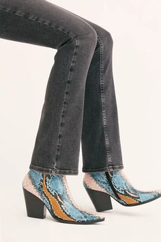 Prism Snake Ankle Boots | Free People